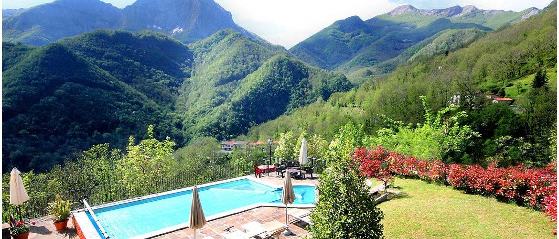 Casa vacanze con piscina - Parco Alpi Apuane